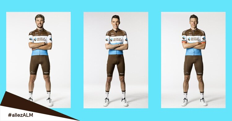 salopette ciclismo Ag2r La Mondiale