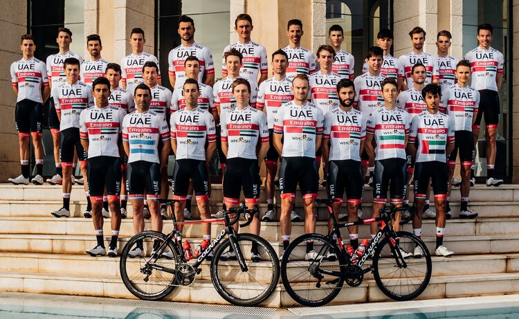 maglie ciclismo UAE